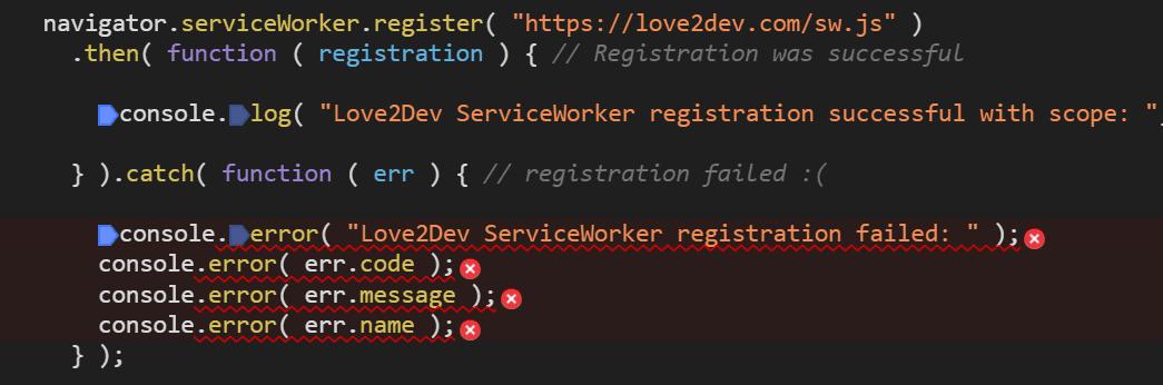 Cannot Register External Domain Service Worker