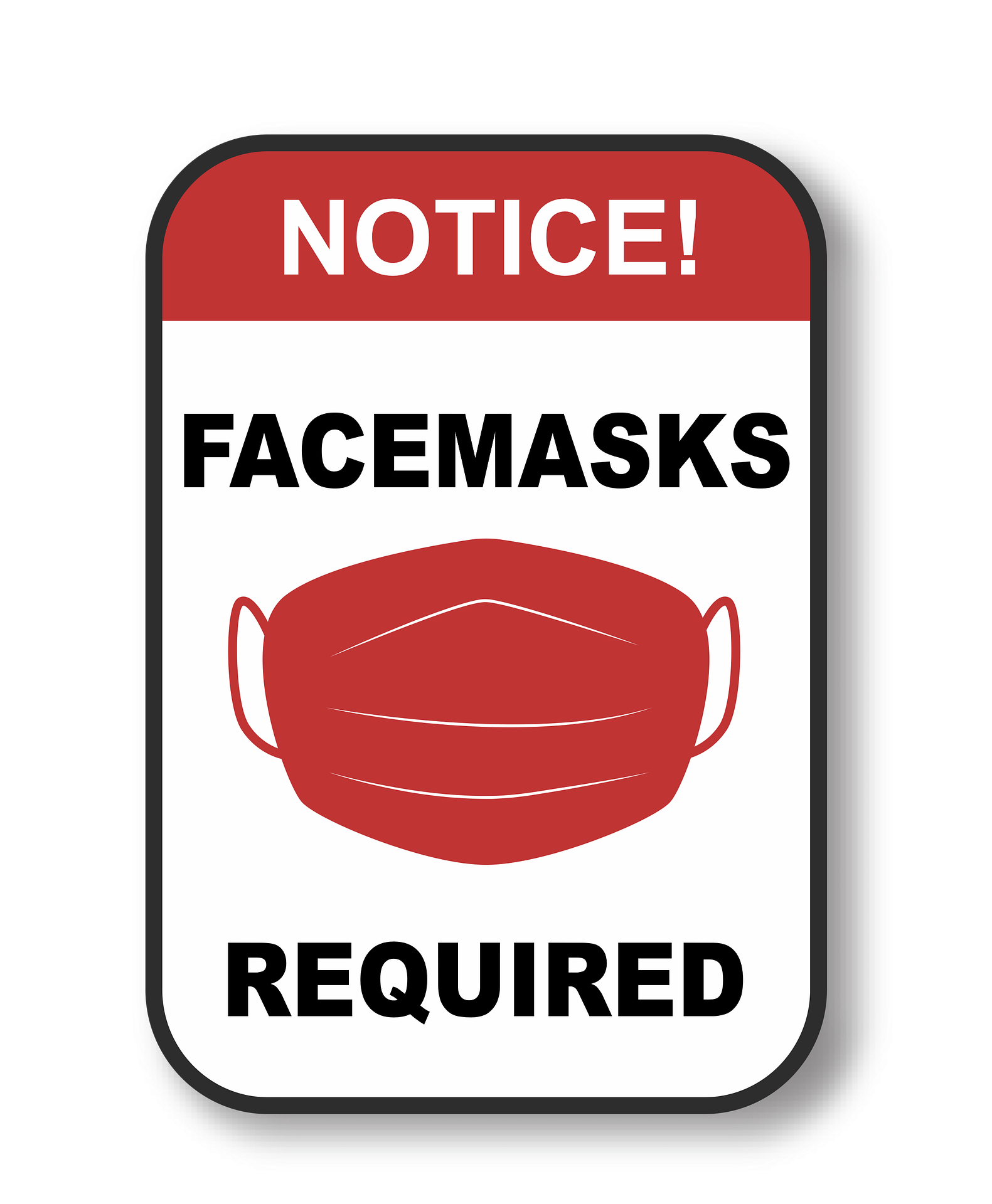 Example Mask Requirement Sign