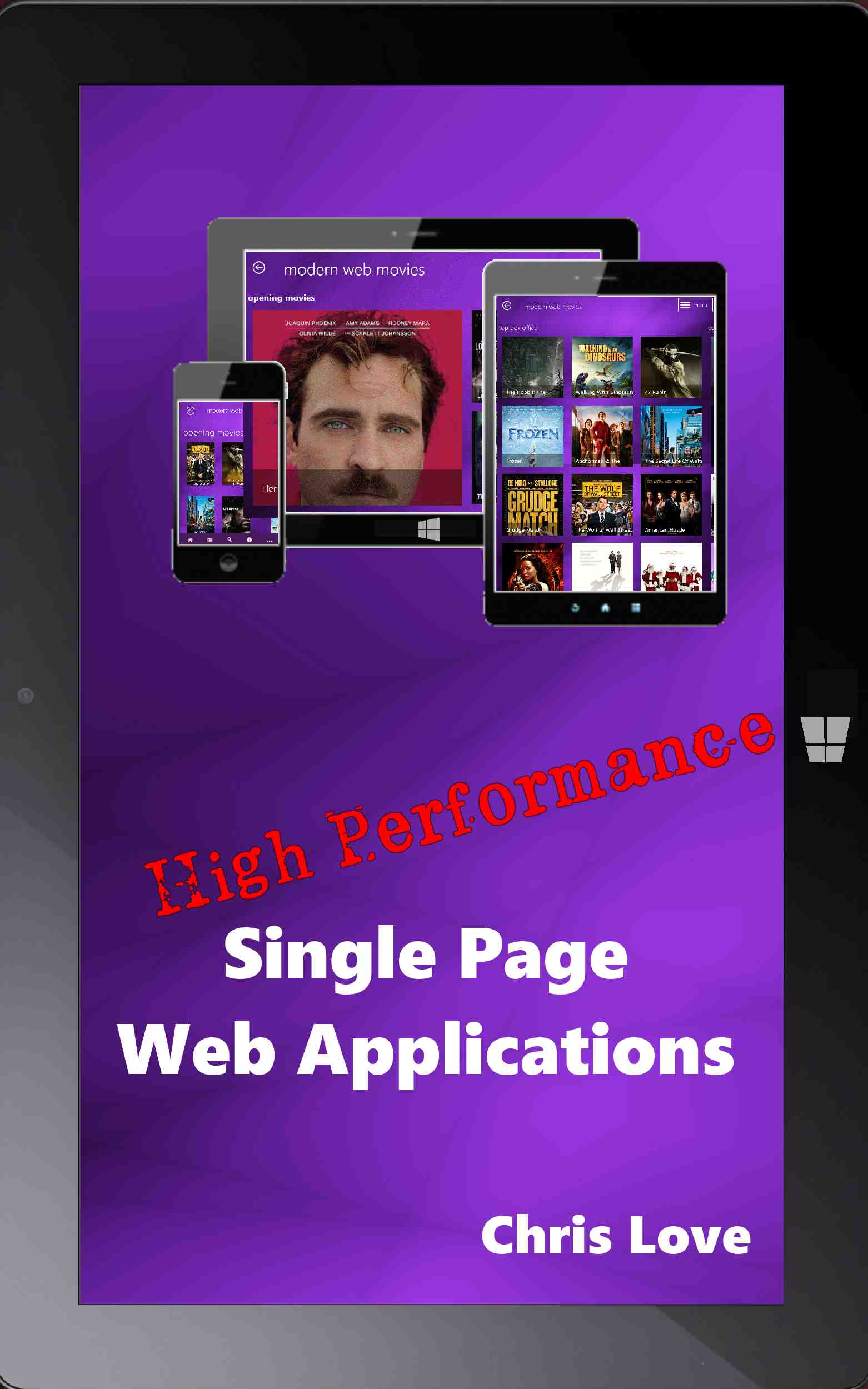 High Performance Single Page Web Applications