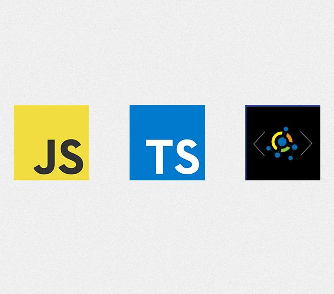 PWA Logo With JavaScript & TypeScript Logos