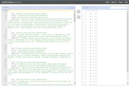 Jsoneditoronline com - A Valuable Web Development Tool