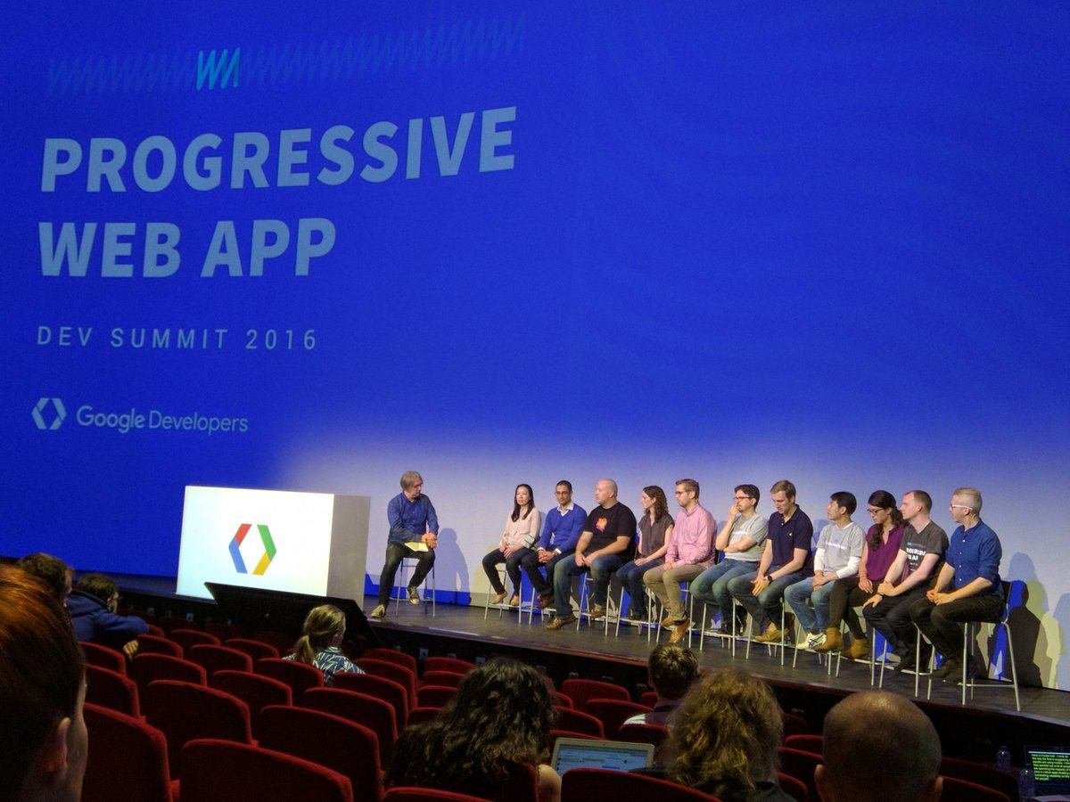 PWA Panel Chrome Dev Summit