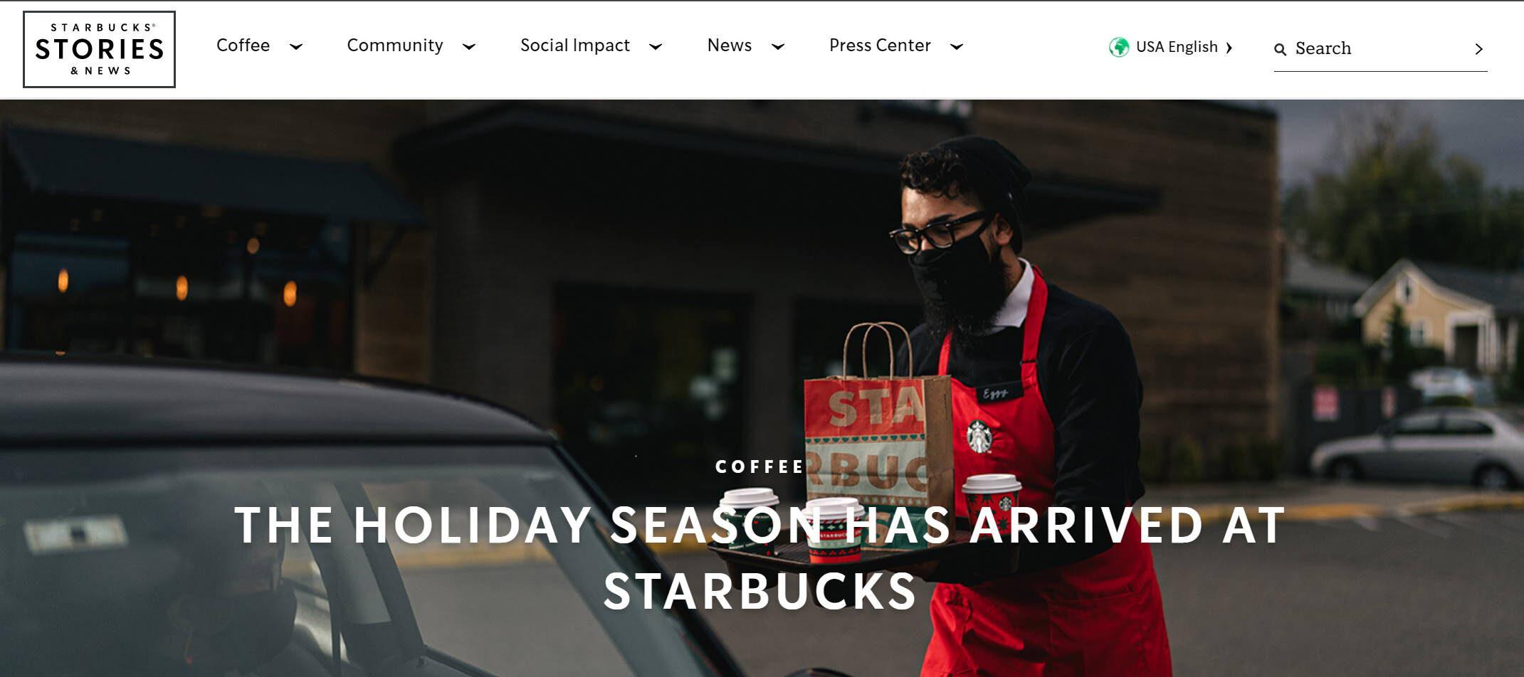 Starbucks Covid Info Hero