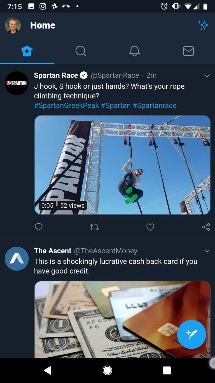 Twitter PWA Example