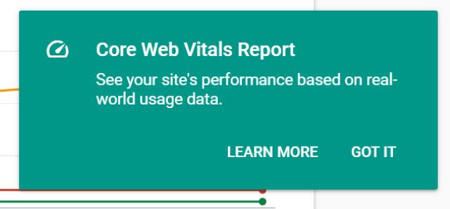Web Vitals Initial Prompt